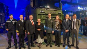 Launch event productintroductie Scania Gryphus