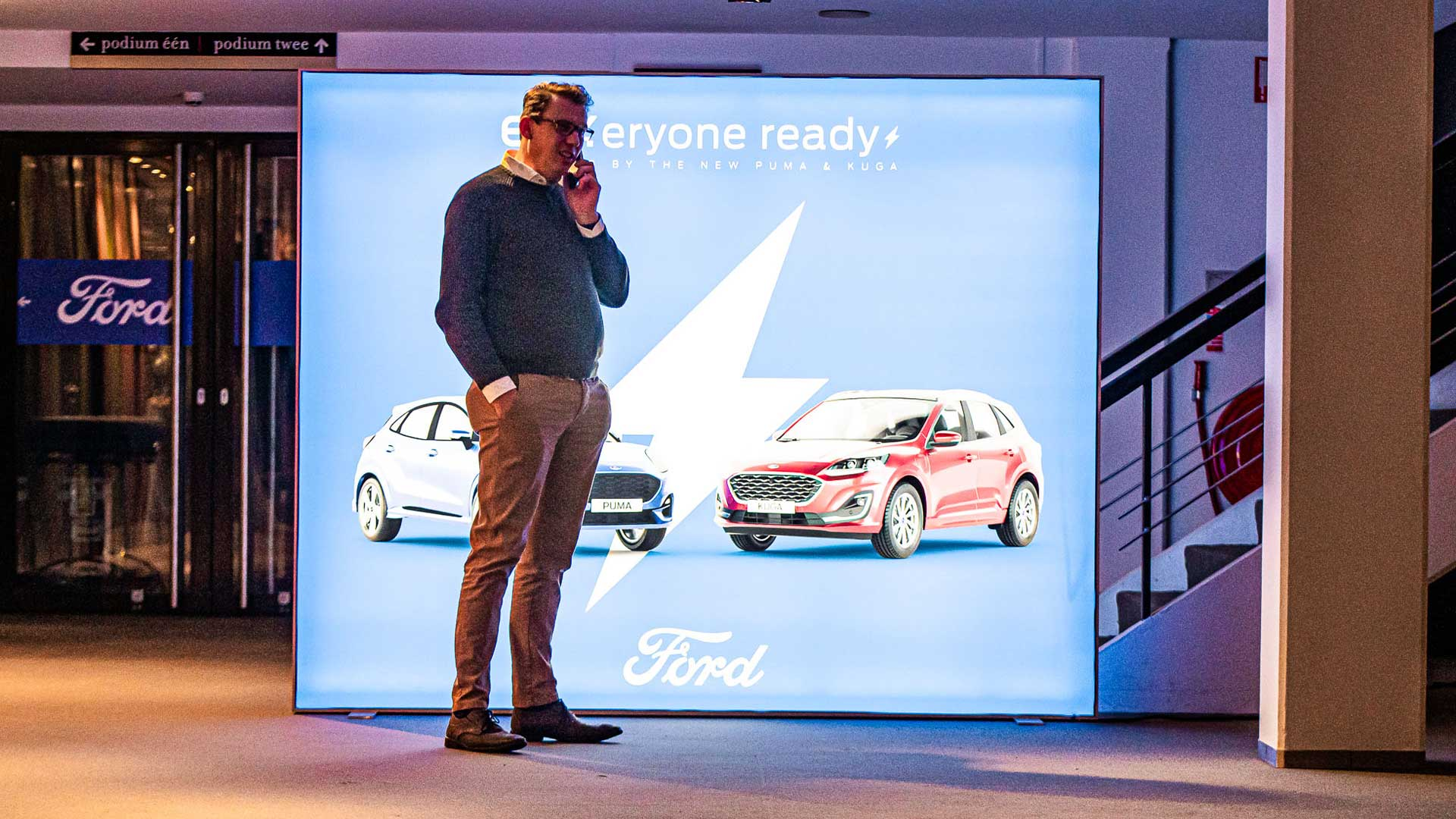 Product launch Ford EV-models