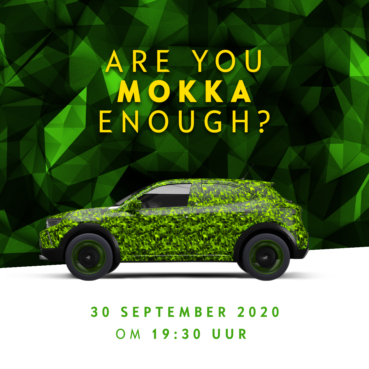 opel mokka live stream online event introductie
