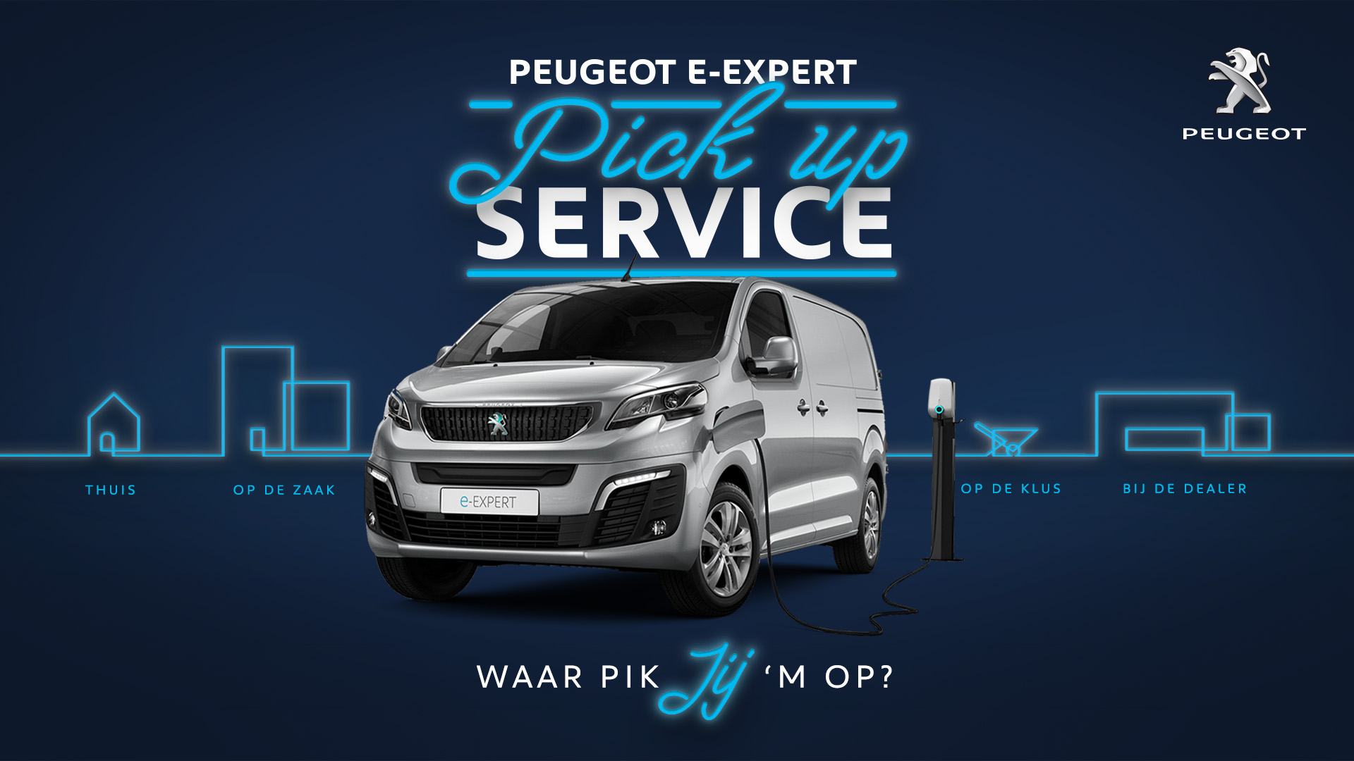 Peugeot pick up proefrit